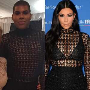 EJ Johnson, Kim Kardashian