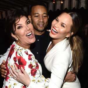 Kris Jenner, John Legend, Chrissy Teigen