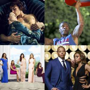 Outlander, Empire, RHONJ, American Ninja Warrior