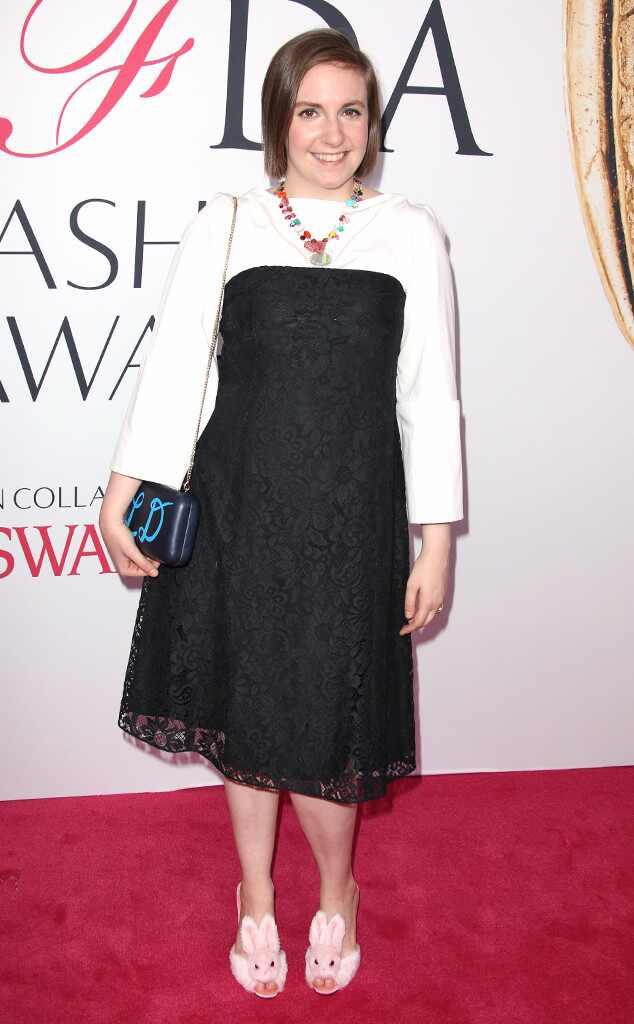 Lena Dunham, 2016 CFDA Fashion Awards