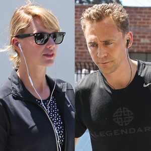 Taylor Swift, Tom Hiddleston, Gym