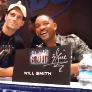 Henry Cavill, Will Smith, Prank, Comic-Con 2016