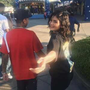 Kylie Jenner, Tyga, Six Flags Magic Mountain