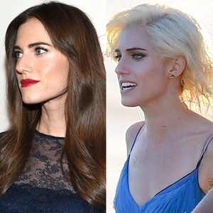 Allison Williams, Hair