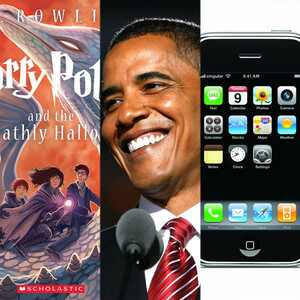 Harry Potter and the Deathly Hallows, iPhone, Barack Obama
