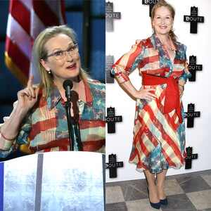 Meryl Streep, Dress, Democratic National Convention