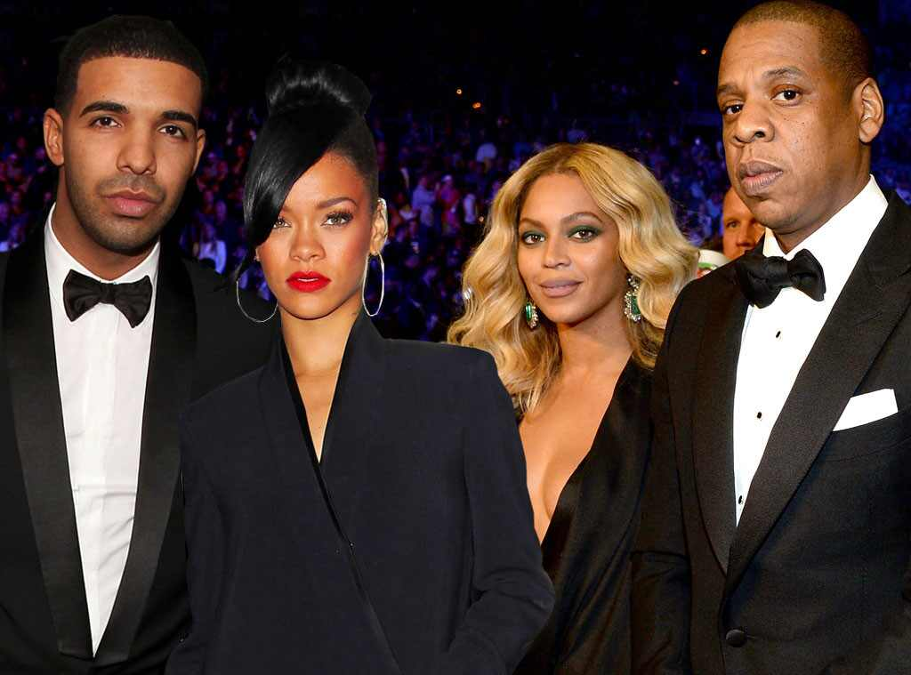Rihanna, Drake, Beyonce, Jay Z