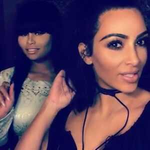 Blac Chyna, Kim Kardashian, Snapchat