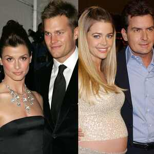 Bridget Moynahan, Tom Brady, Denise Richards, Charlie Sheen