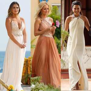 Jojo Bachelorette, Emily Maynard, Andi Dorfman, Finale Dress