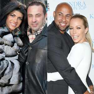 Reality TV Couples, Teresa Giudice, Joe Giudice, Khloe Kardashian, Lamar Odom, Kendra Wilkinson, Hank Baskett