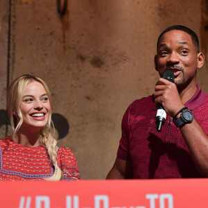 Margot Robbie, Will Smith
