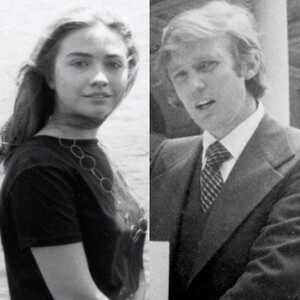 Hillary Clinton, Donald Trump, TBT