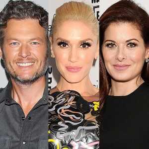 Blake Shelton, Gwen Stefani, Debra Messing