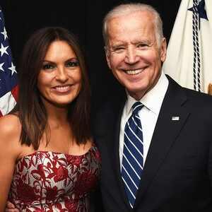 Mariska Hargitay, President Joe Biden