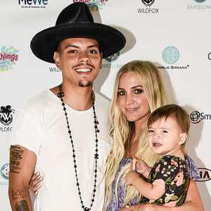 Evan Ross, Ashlee Simpson Ross, Jagger Snow Ross