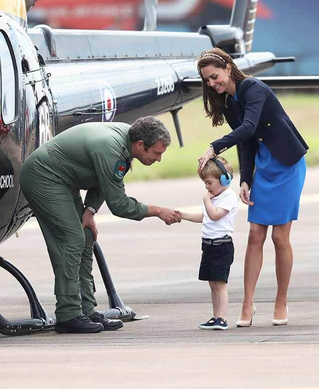 Prince George, Catherine, Duchess of Cambridge, Kate Middleton, Prince William