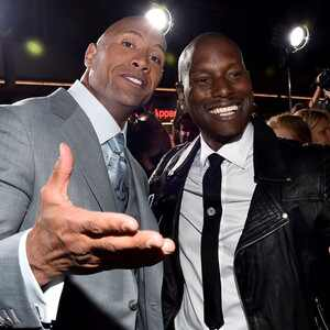 The Rock, Dwayne Johnson, Tyrese Gibson