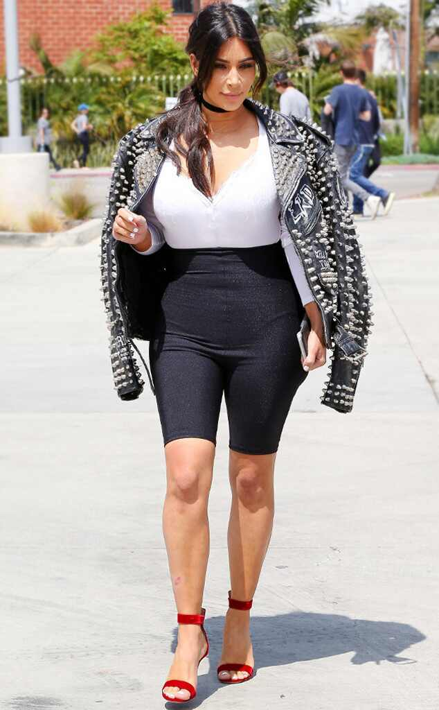 ESC: Kim Kardashian, Long Shorts