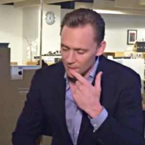 Tom Hiddleston, THR