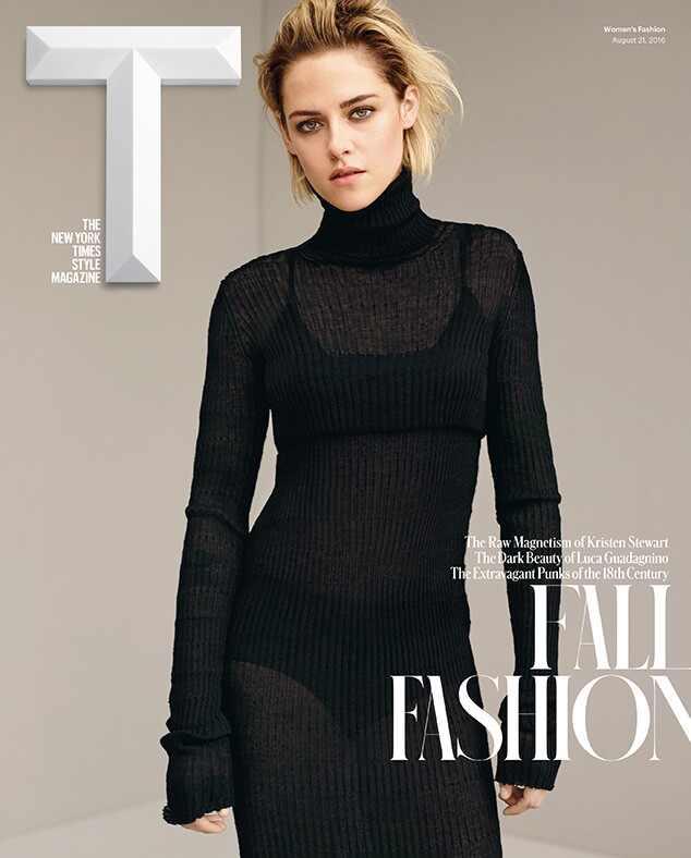 Kristen Stewart, T Magazine