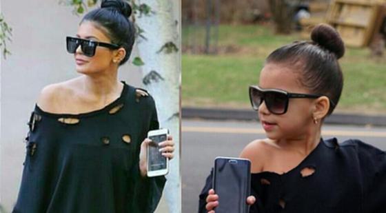 Alerta de ternura: Mira cómo esta pequeña de 6 años imita a la perfección el estilo de las Jenner (+ Fotos)