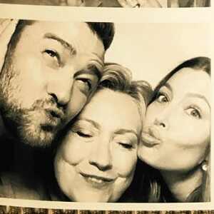 Hillary Clinton, Justin Timberlake, Jessica Biel