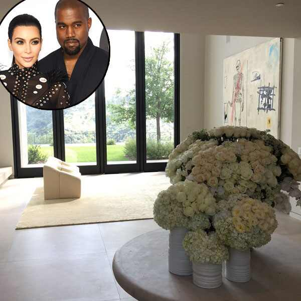 Kim Kardashian, Kanye West, Celeb Homes