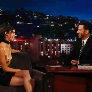 Kendall Jenner, Jimmy Kimmel