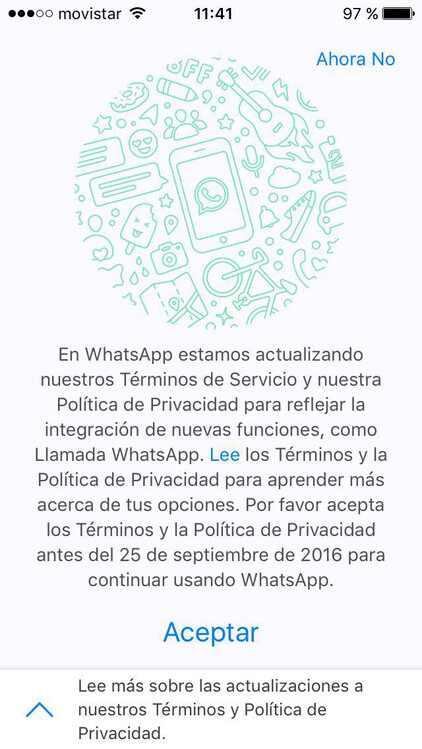 Políticas Whatsapp