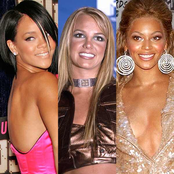 Rihanna, Britney Spears, Beyonce
