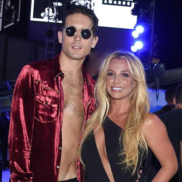 Britney Spears, G Eazy, 2016 MTV VMAs