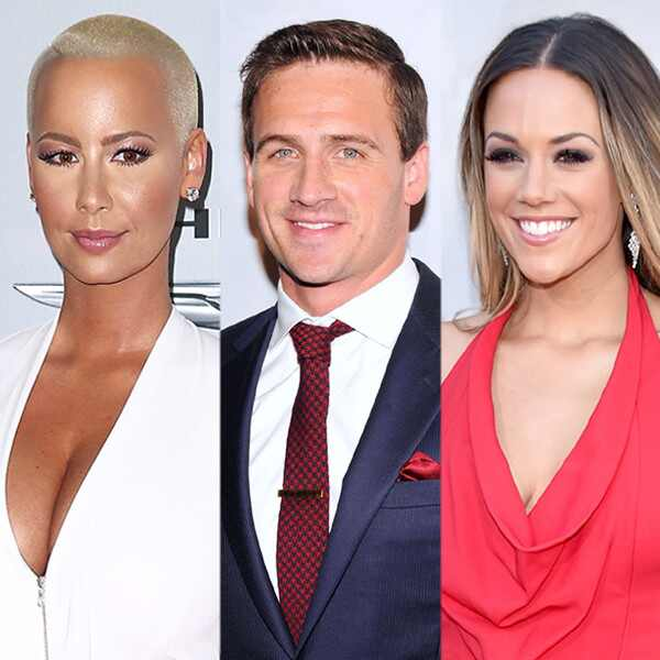 Amber Rose, Ryan Lochte, Jana Kramer, EMBARGO until 08/30/16 at 9am EST