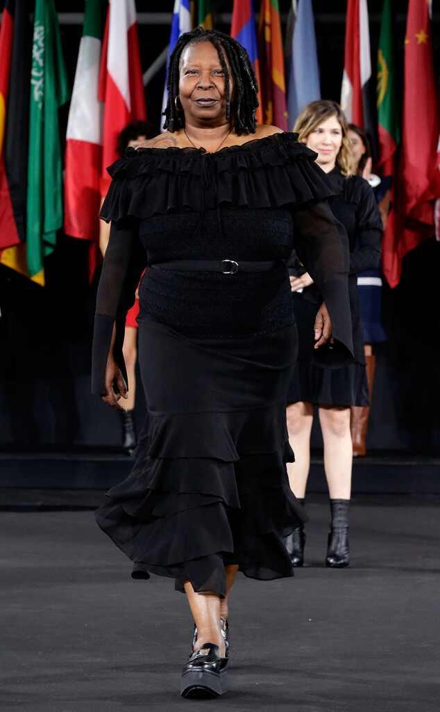 Whoopi Goldberg, Opening Ceremony, NYFW