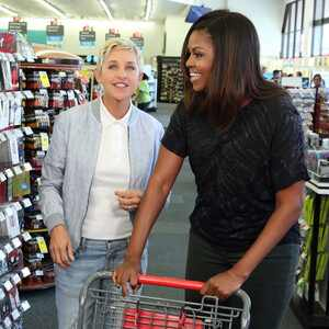 First Lady Michelle Obama, Ellen DeGeneres