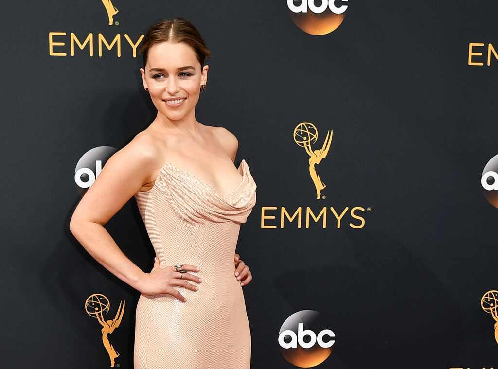 Emilia Clarke, 2016 Emmy Awards