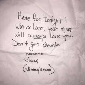 Jimmy Kimmel Letter, Emmys