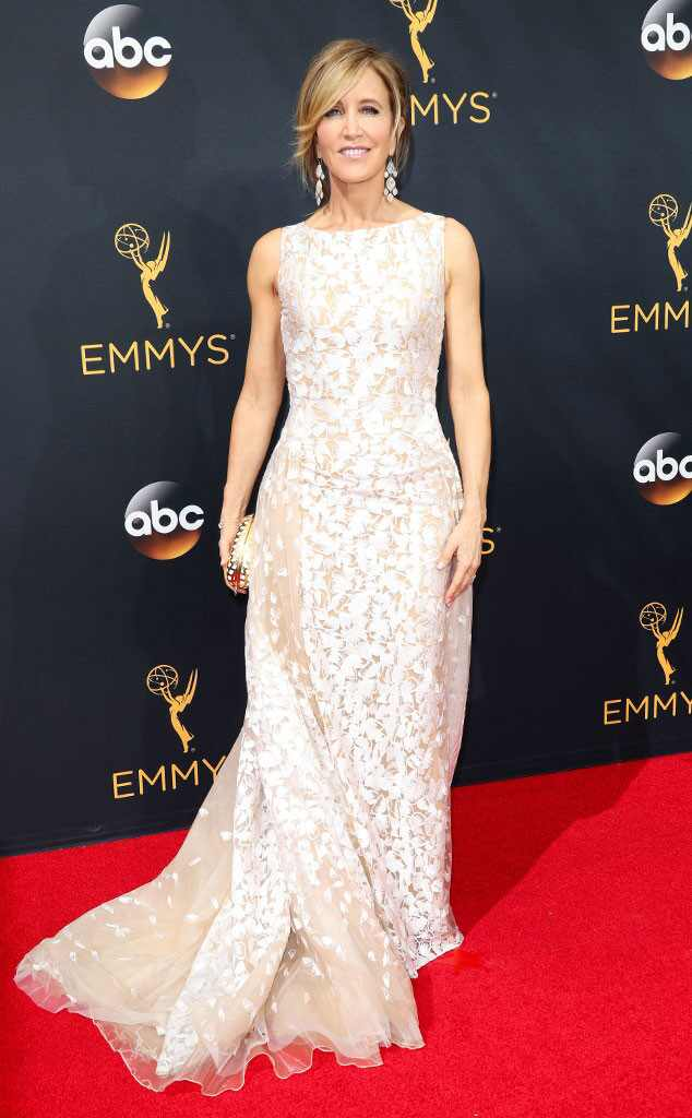 Felicity Huffman, 2016 Emmy Awards, Arrivals