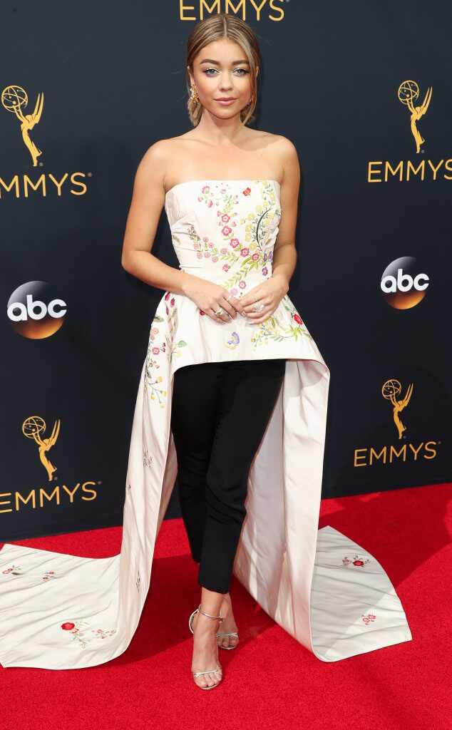 Sarah Hyland, 2016 Emmy Awards, Arrivals