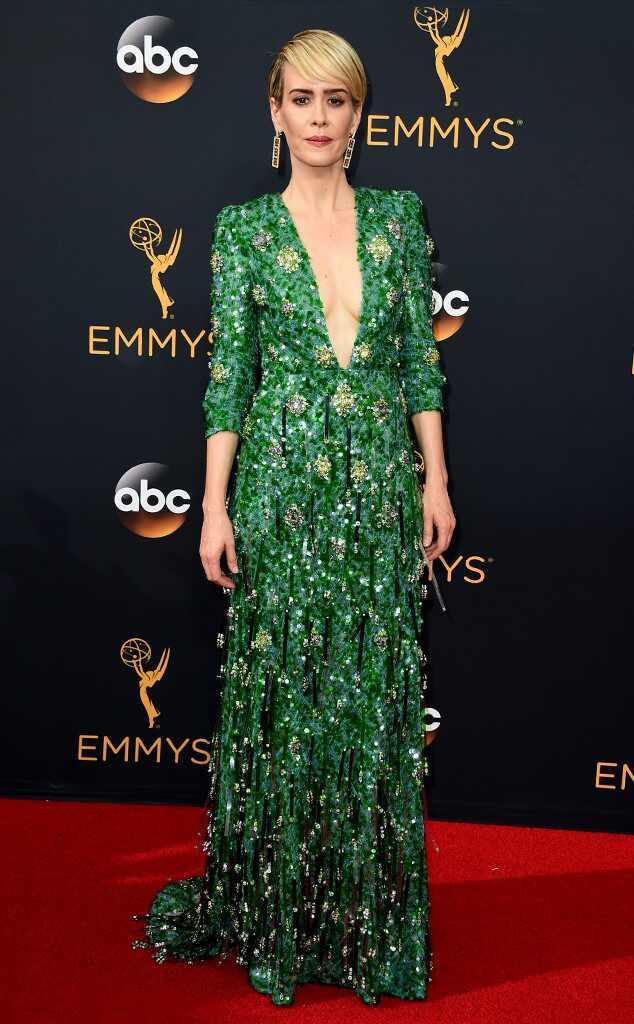 2016 Emmys Red Carpet Arrivals Sarah Paulson, 2016 Emmy Awards, Arrivals