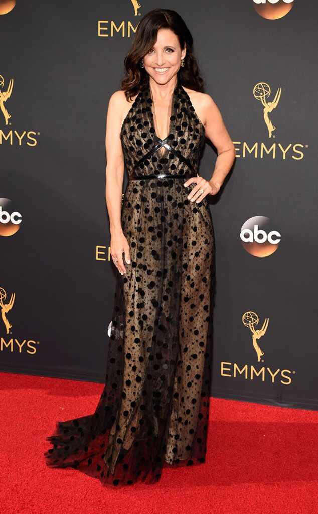 2016 Emmys Red Carpet Arrivals Julia Louis-Dreyfus, 2016 Emmy Awards, Arrivals