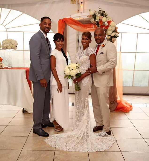Will Smith And Jada Pinkett Smith Attend Her Mother's