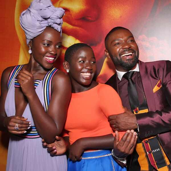 Lupita Nyongo, Madina Nalwanga, David Oyelowo