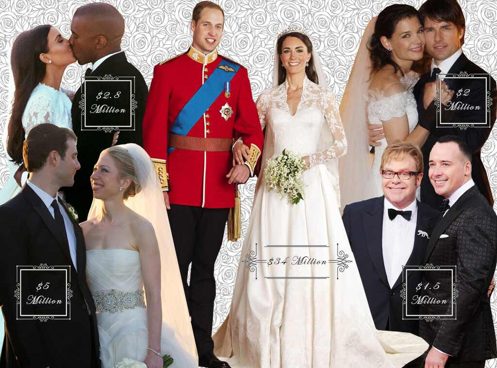 Top 10 Celebrity Weddings That Defied Our Expectations ...