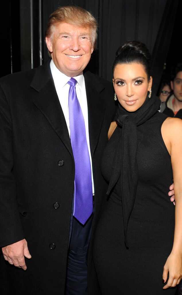 Kim Kardashian, Donald Trump