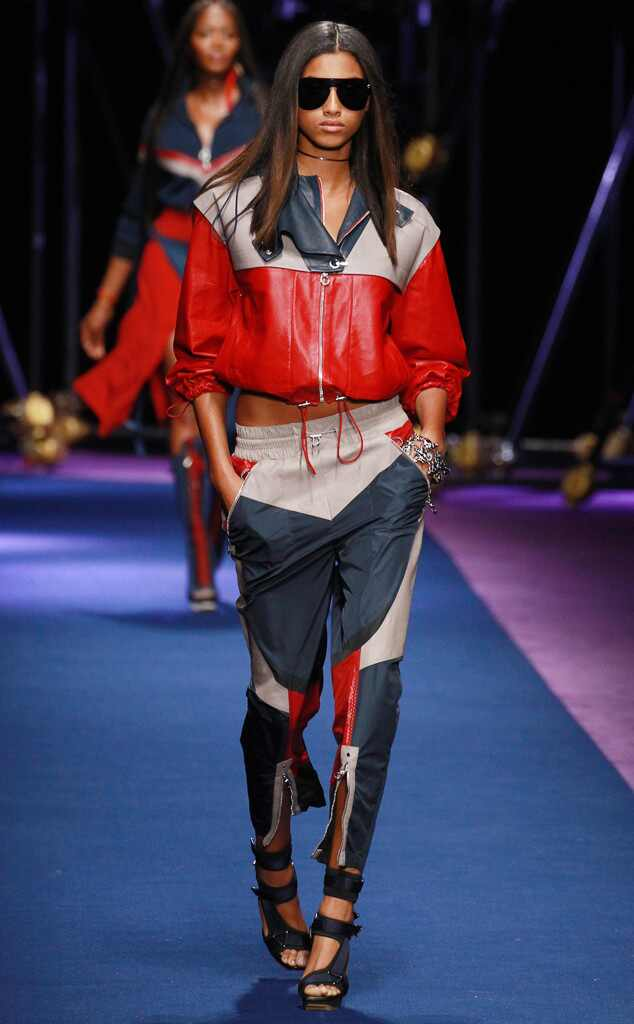 ESC: Best Looks, Milan Fashion Week, Versace
