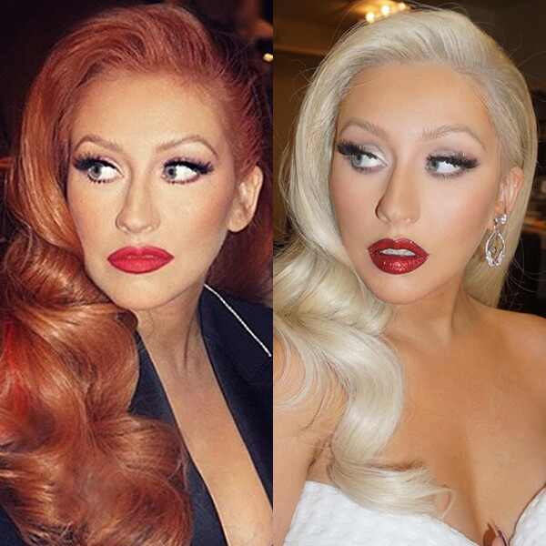 Christina Aguilera Hair Instagram