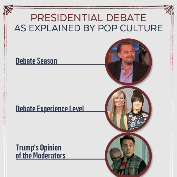 Presidential Debate As Explained By Pop Culture