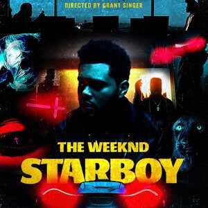 The Weeknd, Starboy Poster