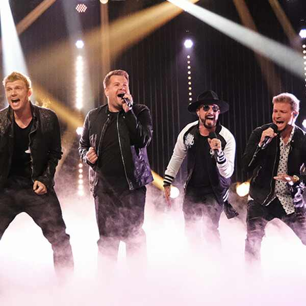 Backstreet Boys, James Corden, The Late Late Show